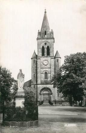 """CPSM FRANCE 46 """"Prayssac, l'église Saint Barthélémy"""""""