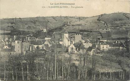 """CPA FRANCE 46 """"Saint Martin de Vers, vue générale"""""""