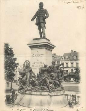 """CPA LIVRET FRANCE 72 """"Le Mans, le monument de Chanzy"""""""