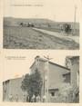 """11 Aude CPA LIVRET FRANCE 11 """"Treilles, les caves et l'église"""" / CARTE DOUBLE"""