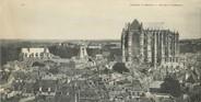 """60 Oise CPA PANORAMIQUE FRANCE 60 """"Beauvais, vue sur la cathédrale"""""""