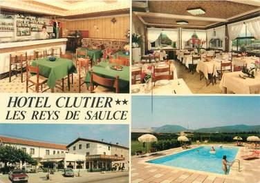 """CPSM FRANCE 26 """"Les Reys de Saulce, hôtel Clutier"""""""
