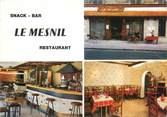 """94 Val De Marne CPSM FRANCE 94 """"La Varennes Saint Hilaire, le Mesnil, restaurant"""""""