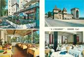 "46 Lot CPSM FRANCE 46 ""Cahors, hôtel restaurant à l'escargot"""