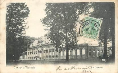 """CPA FRANCE 57 """"Corny sur Moselle, le château"""""""