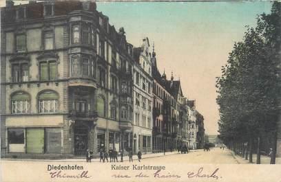 """CPA FRANCE 57 """"Thionville, rue Karl Kaiser"""""""