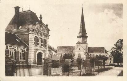 """CPA FRANCE 60 """"Sarcus, école, mairie"""""""