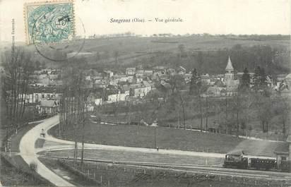 """CPA FRANCE 60 """"Songeons, vue générale"""""""