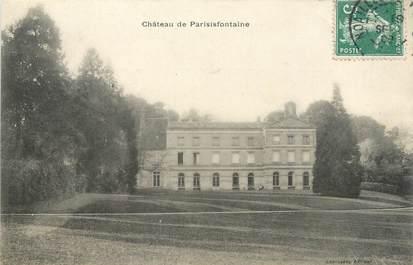 """CPA FRANCE 60 """"Château de la Parisisfontaine"""""""