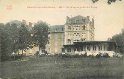 """/ CPA FRANCE 58 """"Saint Honoré les bains, hôtel du Morvan"""""""