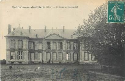 """CPA FRANCE 60 """"Saint Samson la Poterie, château de Mercastel"""""""