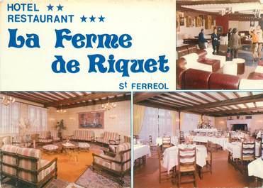"""CPSM FRANCE 31 """"Saint Ferreol, hôtel restaurant La Ferme de Riquet"""""""