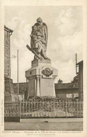 "CPA FRANCE 55 ""Stenay, monument aux morts"""