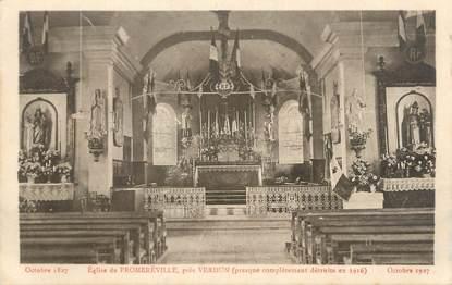 """CPA FRANCE 55 """"Eglise de Froméreville"""""""