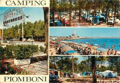 """CPSM ITALIE """"Piomboni Camping"""""""