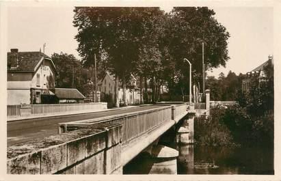 """CPSM FRANCE 55 """"Stenay, pont de la Redoute"""""""