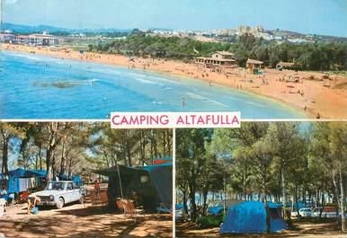"CPSM ESPAGNE ""Tarragona"" / CAMPING"