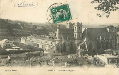 "CPA FRANCE 55 ""Saint Mihiel, abside de l'église"""
