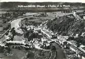 """55 Meuse CPSM FRANCE 55 """"Dun sur Meuse, l'église et la Meuse"""""""