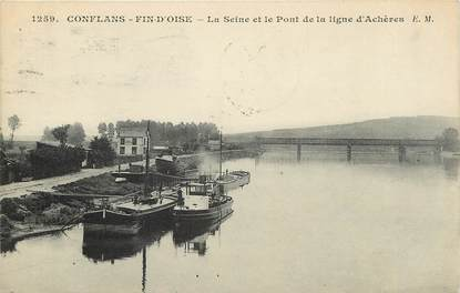 """CPA FRANCE 78 """"Conflans """""""