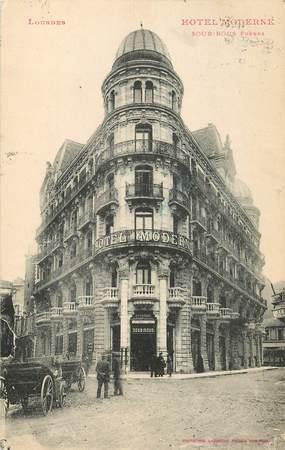"""/ CPA FRANCE 65 """"Lourdes, Hôtel Moderne"""""""