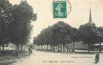 "CPA FRANCE 41 "" Dhuizon, place de la République """