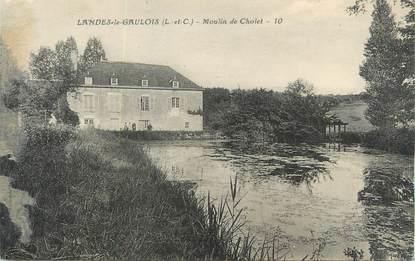 """CPA FRANCE 41 """" Landes le Gaulois, moulins de Cholet """""""