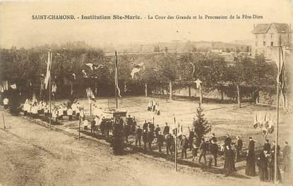 "CPA FRANCE 42 "" Saint Chamond, institution ste Marie """