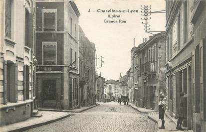 """CPA FRANCE 42 """" Chazelles sur Lyon """""""