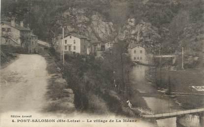 "CPA FRANCE 43 "" Pont Salomon """