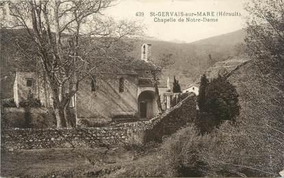 """CPA FRANCE 34 """" Saint Gervais sur Mare """""""
