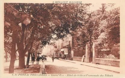 """CPA FRANCE 34 """" Saint Pons de Thomières """""""