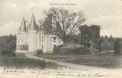 """CPA FRANCE 35 """" La Lohière Loutehel """""""