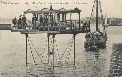 """CPA FRANCE 35 """" Saint Malo Saint Servan """""""