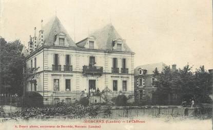 "CPA FRANCE 40 ""Morcenx, le château"""