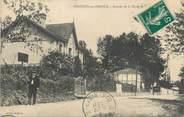 """40 Lande CPA FRANCE 40 """"Pontonx sur l'Adour, avenue de la Chalosse"""""""