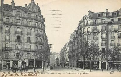 "CPA FRANCE 75015 ""Paris, rue Valentin Haüy"""