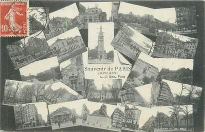 """CPA FRANCE 75014 """"Paris"""""""