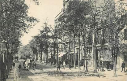 """CPA FRANCE 75014 """"Paris, la rue Alésia, la poste"""""""