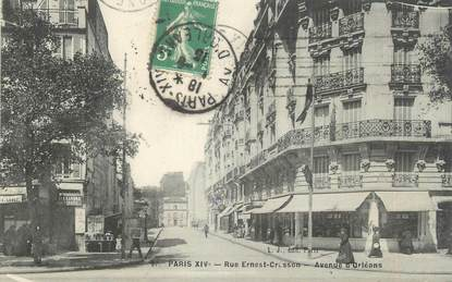 "CPA FRANCE 75014 ""Paris, rue Ernest Cresson"""