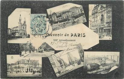 """CPA FRANCE 75013 """"Paris"""""""