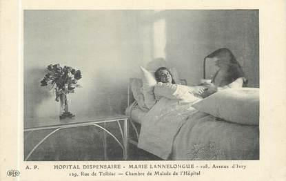 """CPA FRANCE 75013 """"Paris, hôpital Dispensaire Marie Lannelongue"""""""