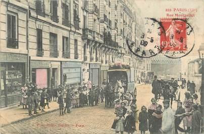 """CPA FRANCE 75012 """"Paris, rue Montgallet"""""""