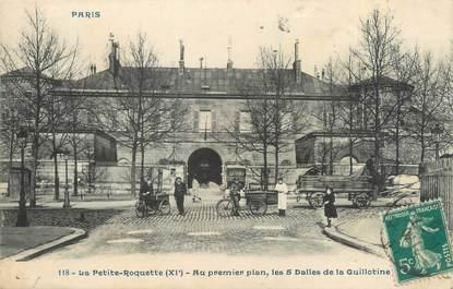 """CPA FRANCE 75011 """"Paris, la Petite Roquette"""""""