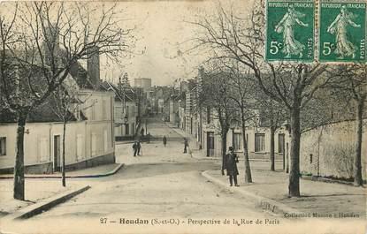 """CPA FRANCE 78 """"Houdan, la rue de Paris"""""""