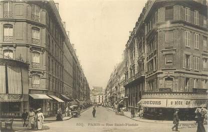"""CPA FRANCE 75006 """"Paris, rue Saint Placide """""""