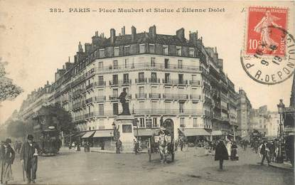 "CPA FRANCE 75006 ""Paris, place Maubert"""