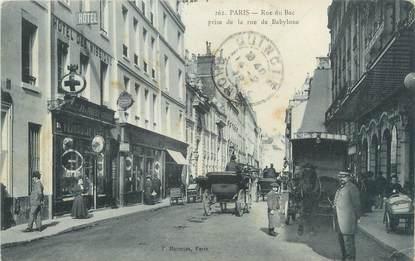 "CPA FRANCE 75006 ""Paris, rue du Bac """