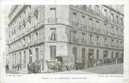 """CPA FRANCE 75005 """"Paris, la librairie Delagrave"""""""