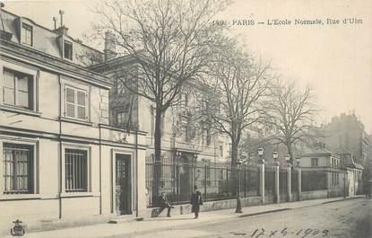 """CPA FRANCE 75005 """"Paris, l'école normale, rue d'Ulm"""""""